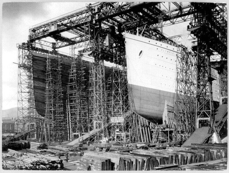 Выживший из троицы: военная служба RMS Olympic