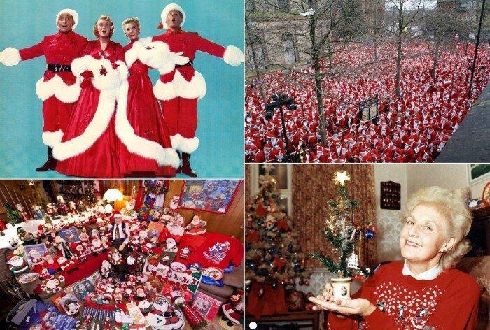 Рождественские мировые рекорды (21 фото)