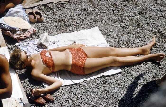 Крым 1958 года в цвете (22 фото)