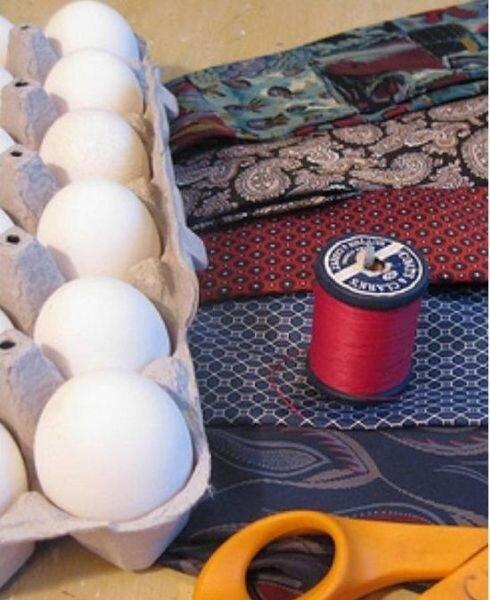 Креативный окрас яиц (4 фото)
