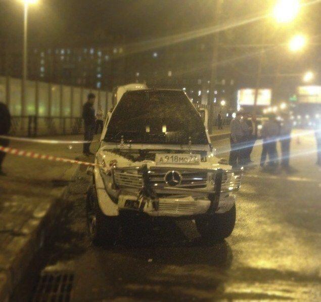 Иеромонах сбил людей на Кутузовском и скрылся с места происшествия (18 фото + видео)