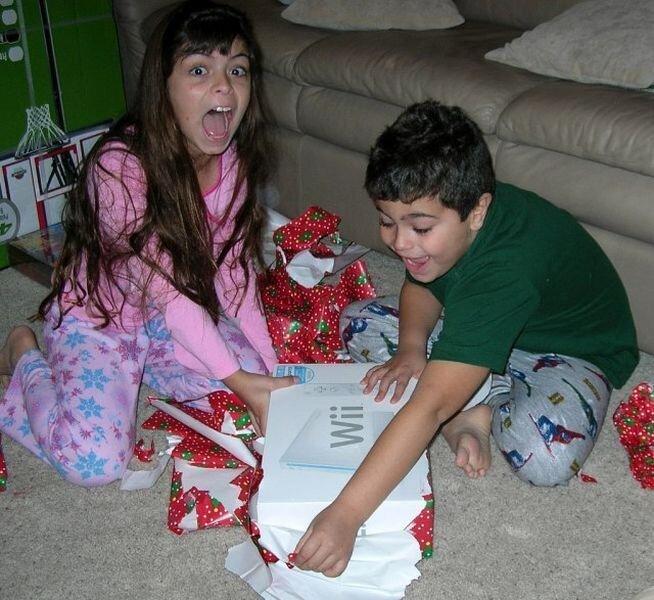 Реакция детей на подарки (25 фото)