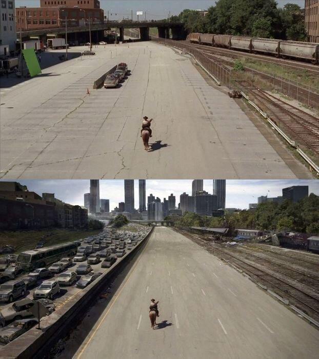 Фильмы до и после наложения эффектов (15 фото)