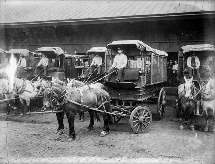 Почта США прошлого и настоящего (20 фото)