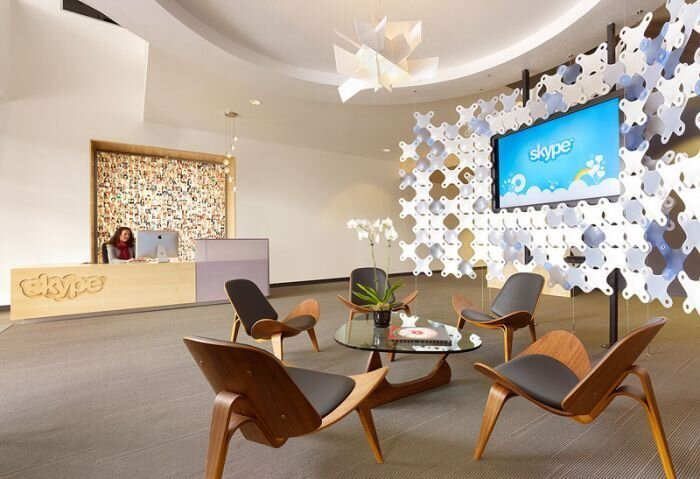 Офис компании Skype в Калифорнии (20 фото)