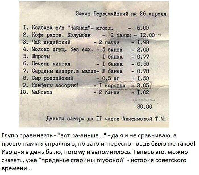 Советские цены (2 фото)