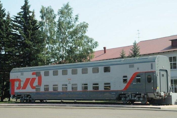 В России появятся  двухэтажные вагоны (30 фото + 2 видео)