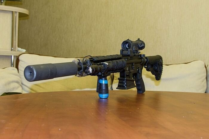 Гражданский вариант охотничьего ружья (18 фото)