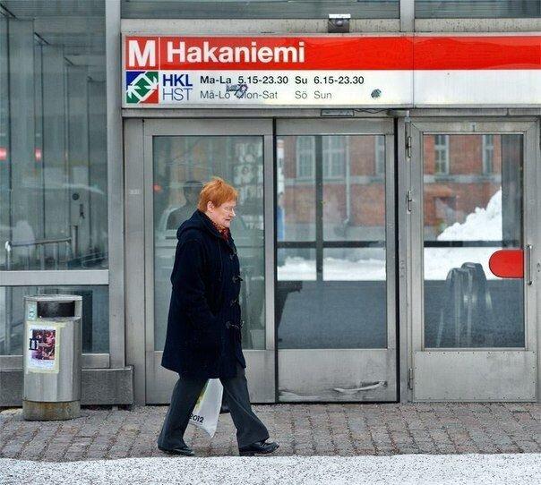 Президент на пенсии (8 фото)