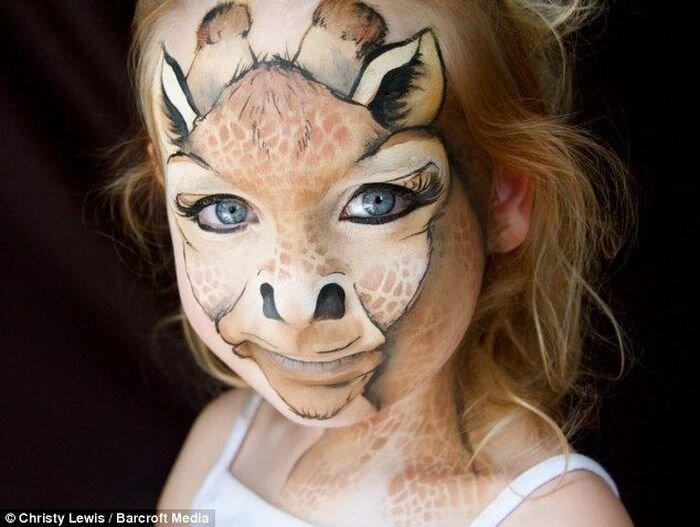 Бодиарт на лицах детей (9 фото)