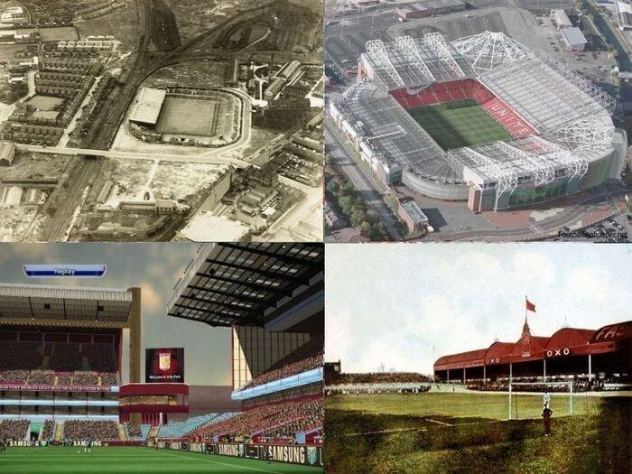 Стадионы: в прошлом и настоящем (10 фото)