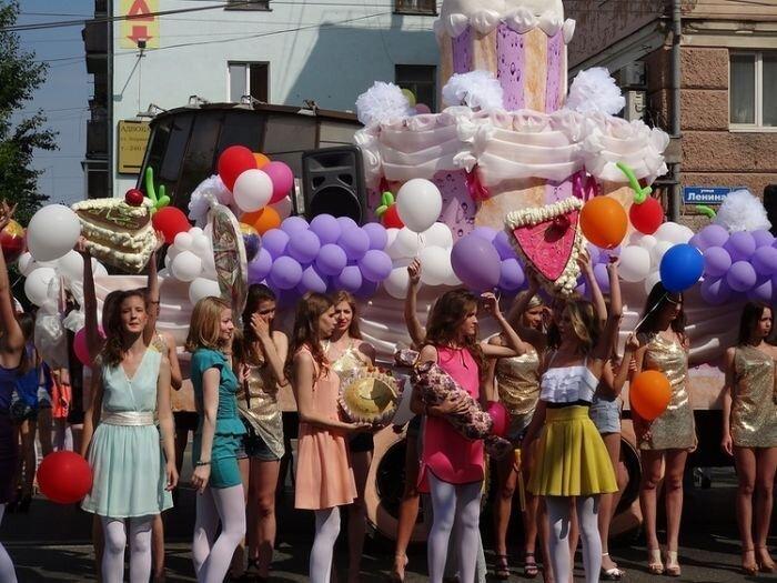 Карнавал в Перми  (19 фото)