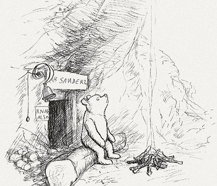 Вид Винни-Пуха глазами иллюстраторов и мультипликаторов (24 фото)