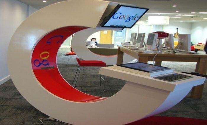 Работа в офисах Google (13 фото)