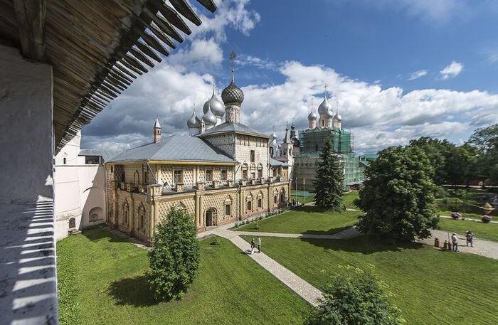 Ростовский Кремль. Золотое Кольцо (32 фото)