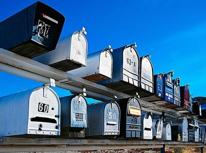 Как работает почта в США (17 фото)