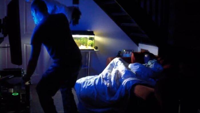 Страшный розыгрыш над женой (видео)