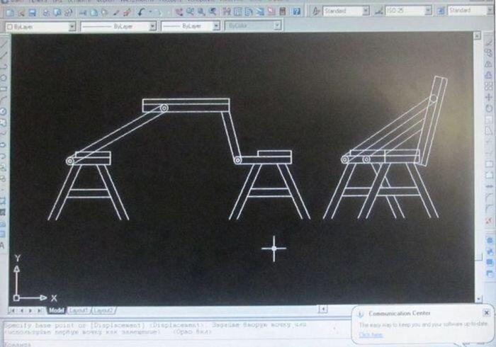Делаем скамейку-трансформер (18 фото)