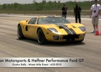 Heffner Ford GT побил мировой рекорд скорости на дистанции в одну милю