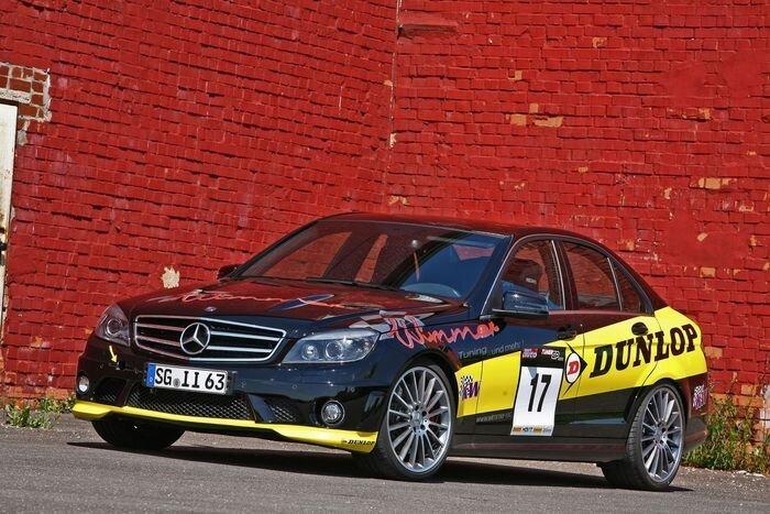 Wimmer RS прокачали Mercedes C63 AMG (13 фото)