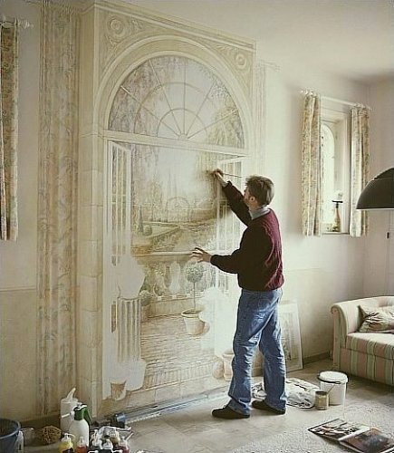 Рисуем на стенах (12 фото)