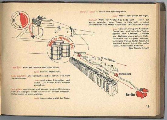 Инструкция к немецкому танку Tiger от 1943 (10 фото)
