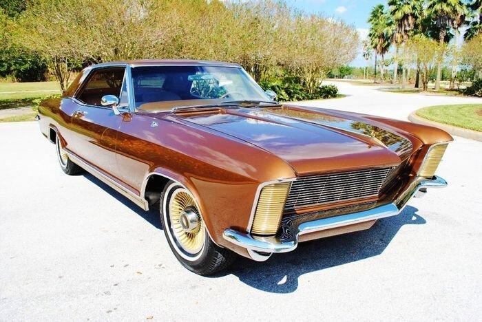 Редкий Buick Riviera 1965 года выставлен на продажу (56 фото)