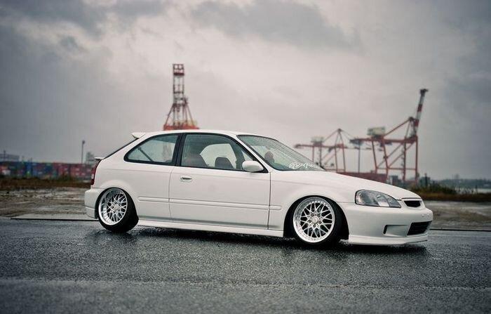 Сексуальный японский Honda Civic (21 фото)