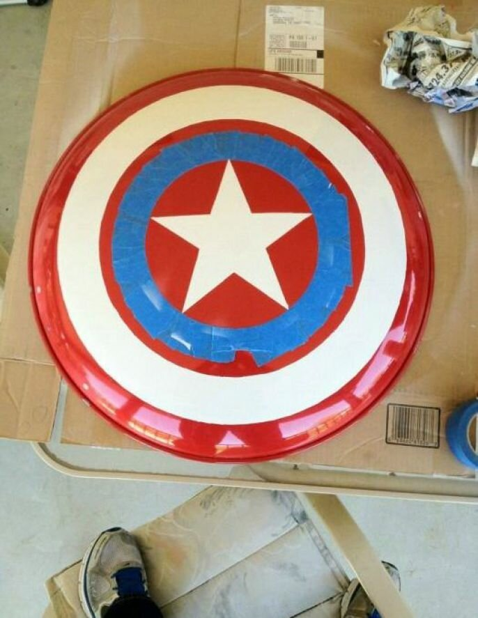 Awesome Captain America's Shield DIY, Fun Project
