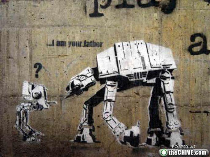 Geeky Graffiti: The Best Kind of Graffiti