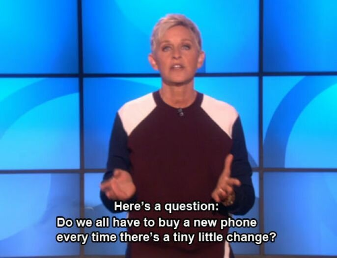 Ellen And The Truth About The IPhone 5