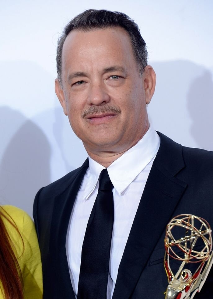 Tom Hanks Takes His Grammy for a Joy Ride