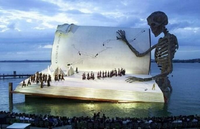 Amazing Floating Concert/ Theater Stage In Austria  от Veggie за 24 sep 2012