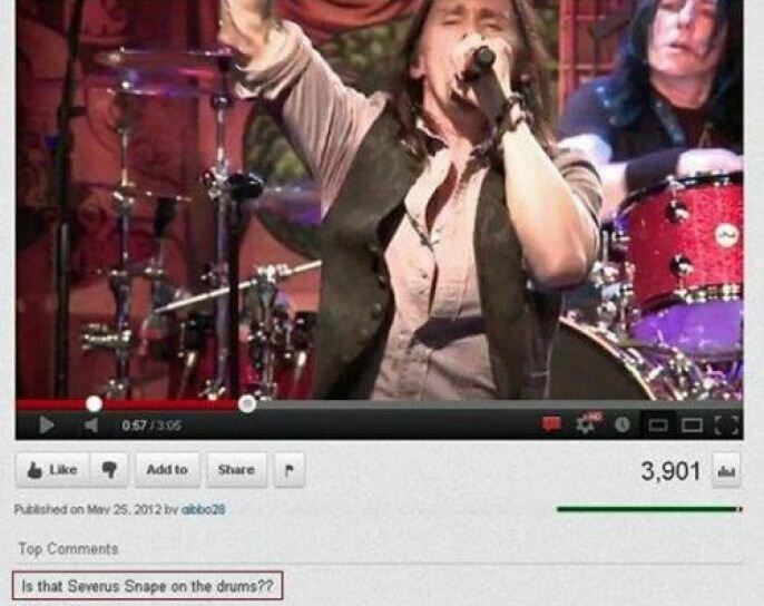 Hilarious YouTube Comments  от Veggie за 24 sep 2012
