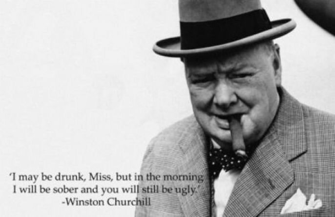 Winston Churchill Was Kind of A Bad*ss от Veggie за 24 sep 2012