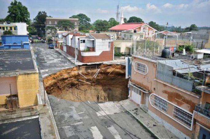 Insane Damage From Sinkholes