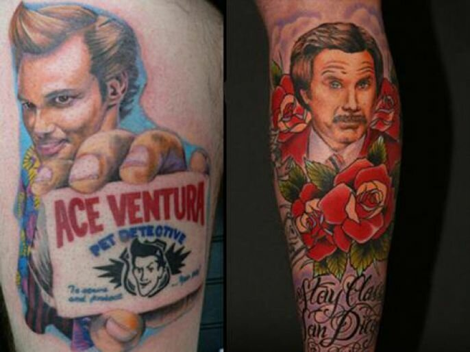 Creative And Awesome Movie Inspired Tattoos