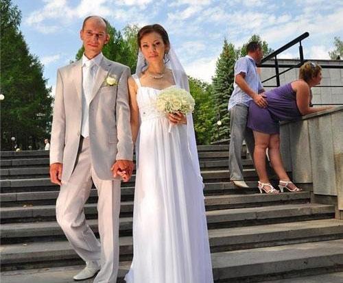 Hilarious Wedding Photobombs от Veggie за 25 sep 2012