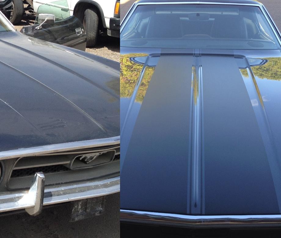 Ford Mustang restoration