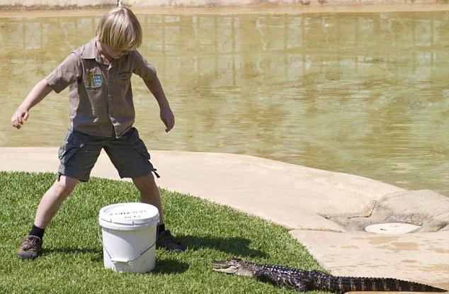 Crocodile Hunter's Son Robert Irwin Still In the Family Business.  от Veggie за 26 sep 2012