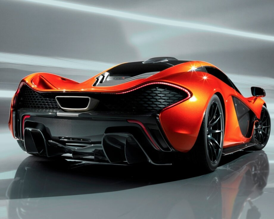 The Gorgeous McLaren P1 Concept In High-Resolution