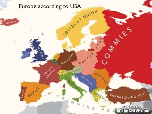 Europe According To...Multiple Countries  от Veggie за 26 sep 2012