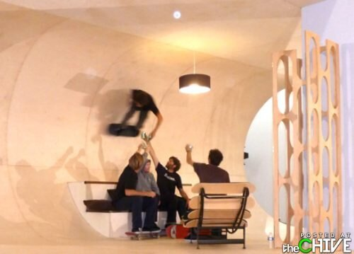 A Skateboarder's Dream House