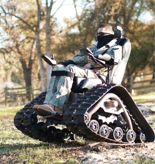 Unbelievable Wheelchair Tank!