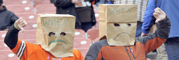 NFL Teams With Paper Bag-Headed Fans