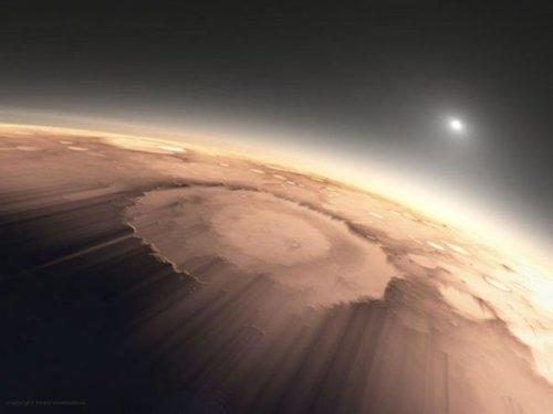 Mornings on Mars