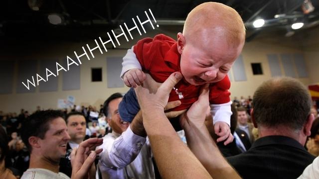Babies Hate Mitt Romney