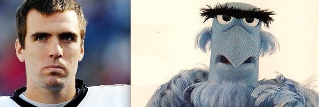 All 32 NFL Quarterbacks & Their Muppet Doppelgangers от Kaye за 28 sep 2012