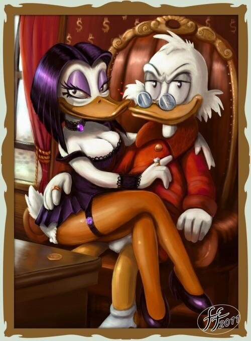 Naughty Disney fan art