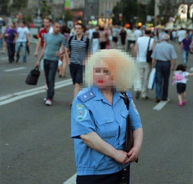 Harsh Ukrainian Police